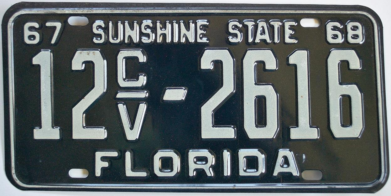 Classic Car Tags Florida