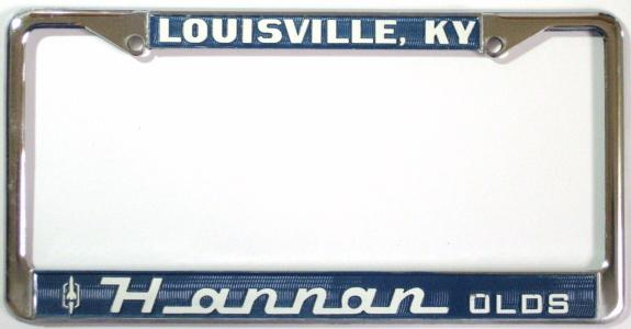 dealer license plate frame