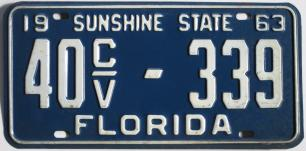 florida license plate for sale