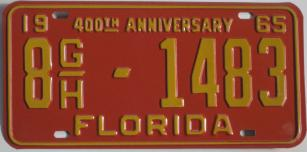 old florida tag