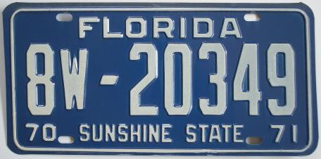 old-florida-tag-1970-8w20349.JPG